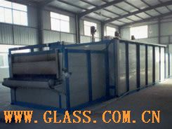 high boron silicon glass production line annealing furnace