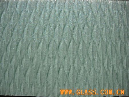 thermal melting decorative glass