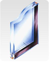 hollow glass/double glazing