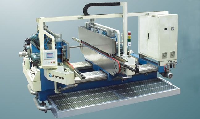 GLASS STRAIGHT LINE DOUBLE EDGER(10WHEELS)