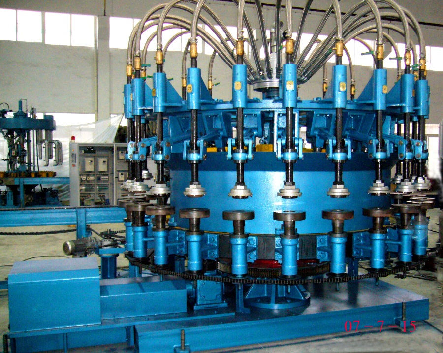 Rotary Fire Polishing Machine