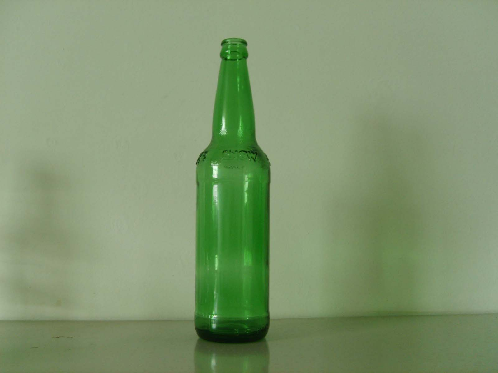 Beer glass bottle wine glass bottle spice glass for Red glass wine bottles suppliers