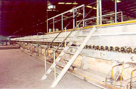 glass bottle production line