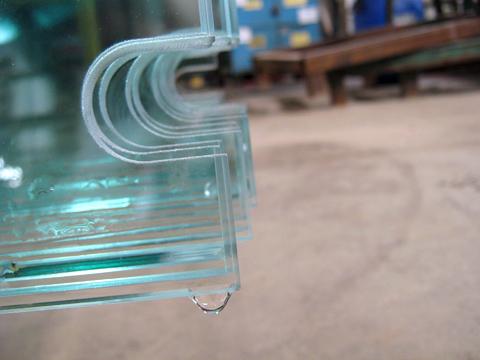 Safty glass---U-notch