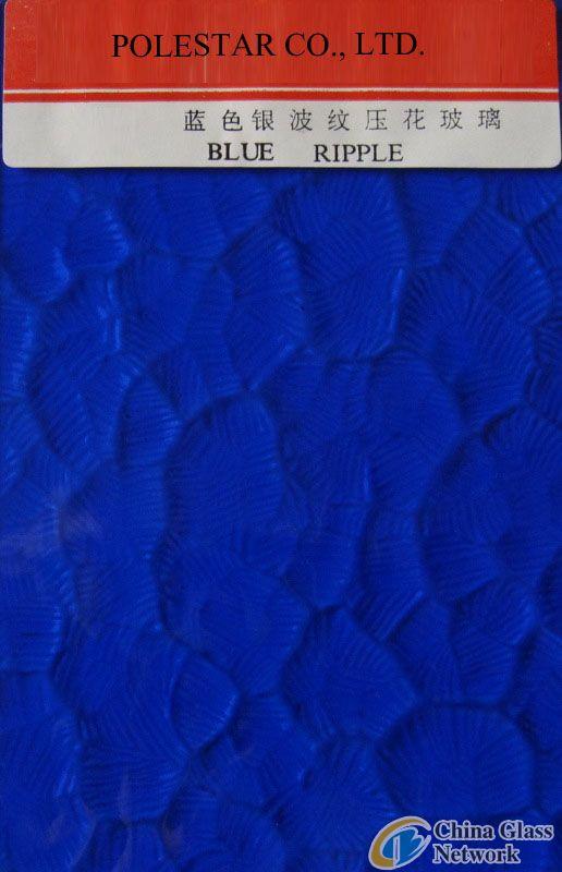 Blue Ripple(Oceanic)Glass