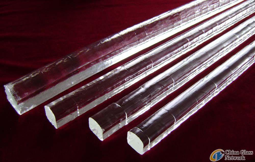 U-glass rod