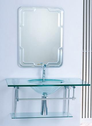 Glass wash-basin