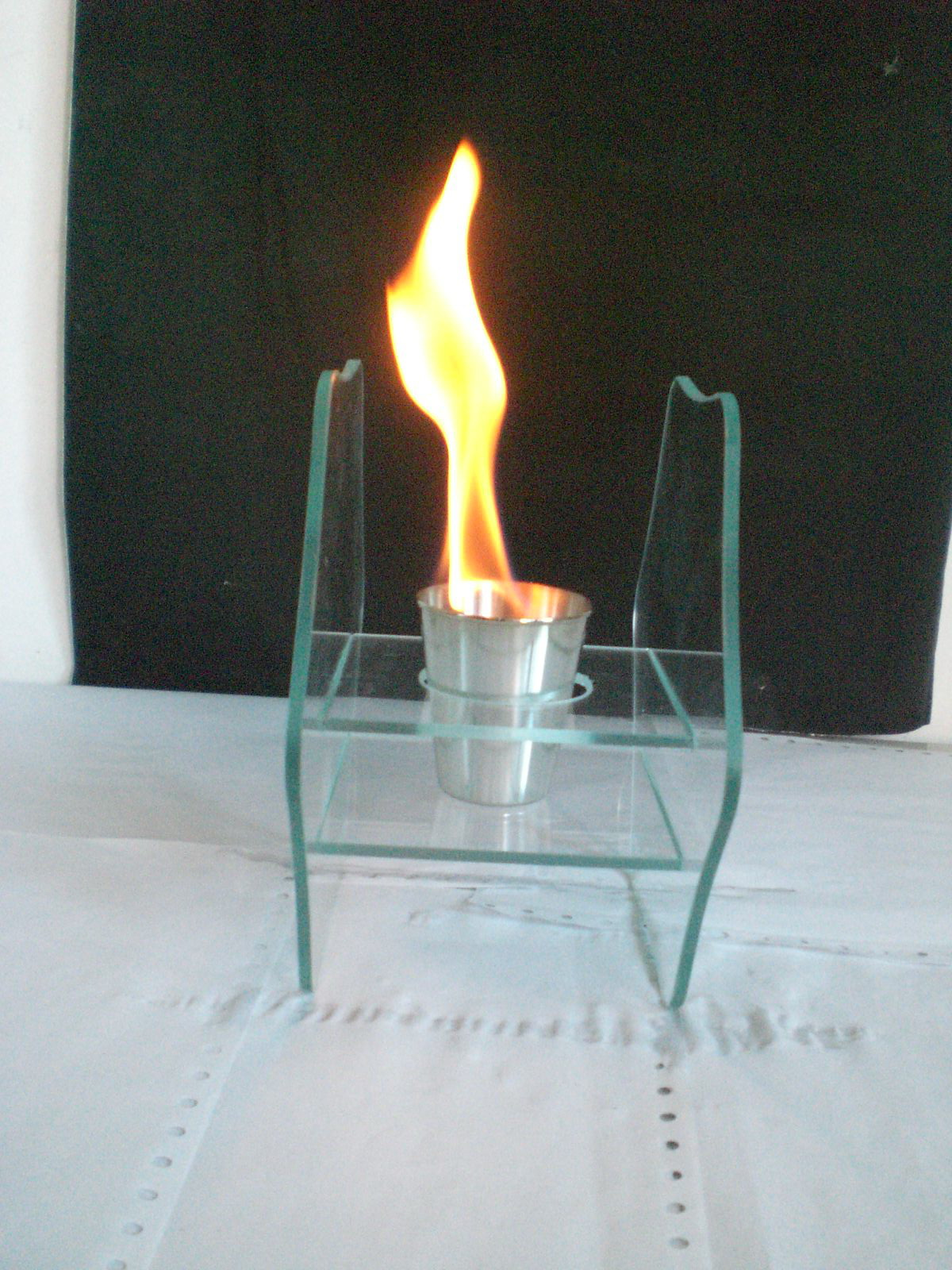 glass ethanol fireplace RX-5002