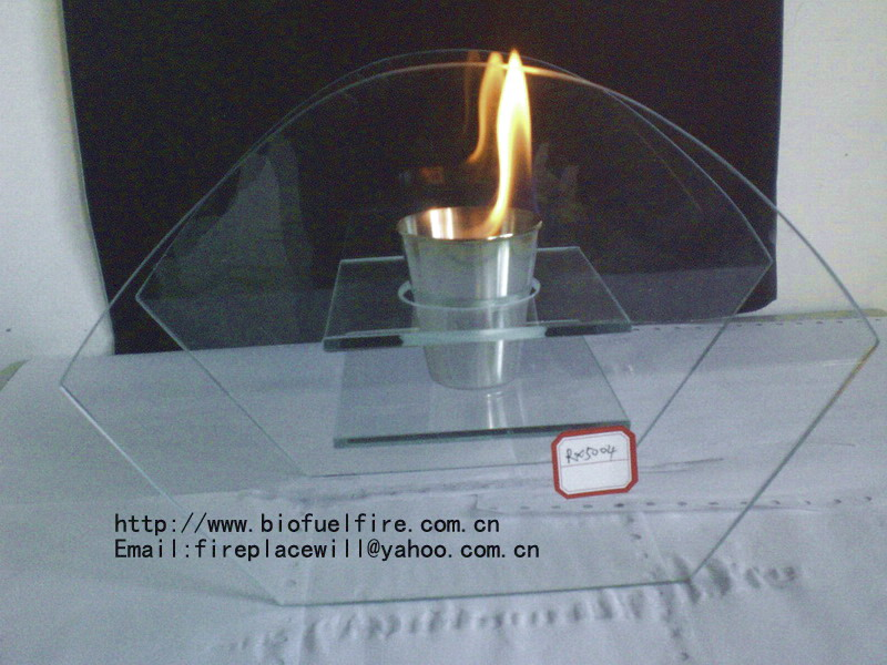 glass fireplace RX5004
