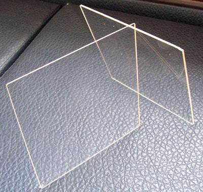 Flat Quartz Glass / High temperature glass
