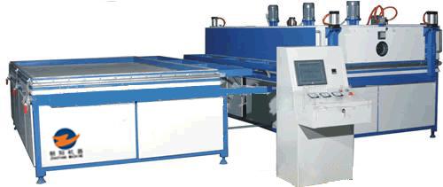 glass vacuum heating laminating machine