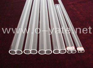 double core quartz tube