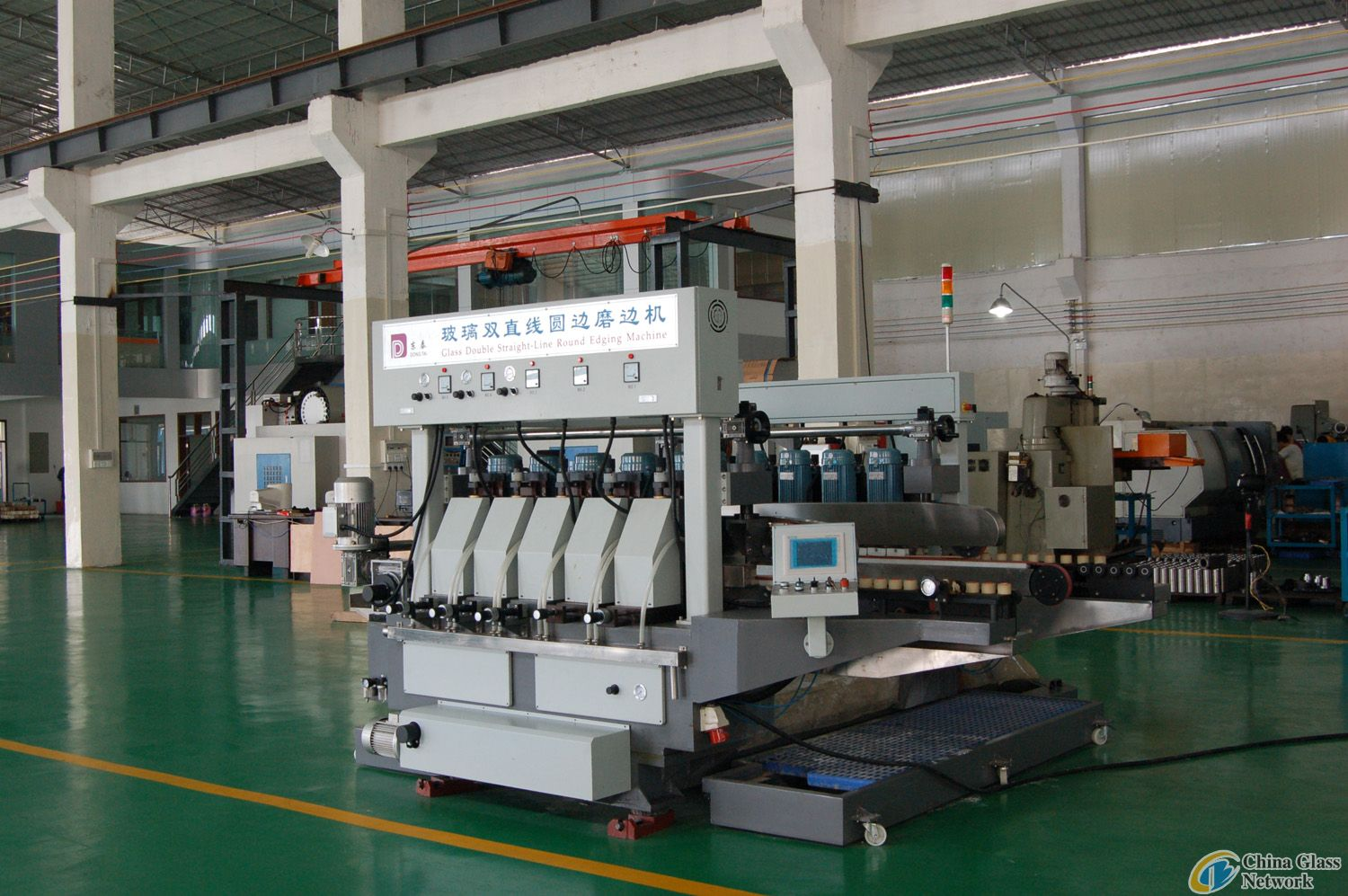 glass round edge double edging machine