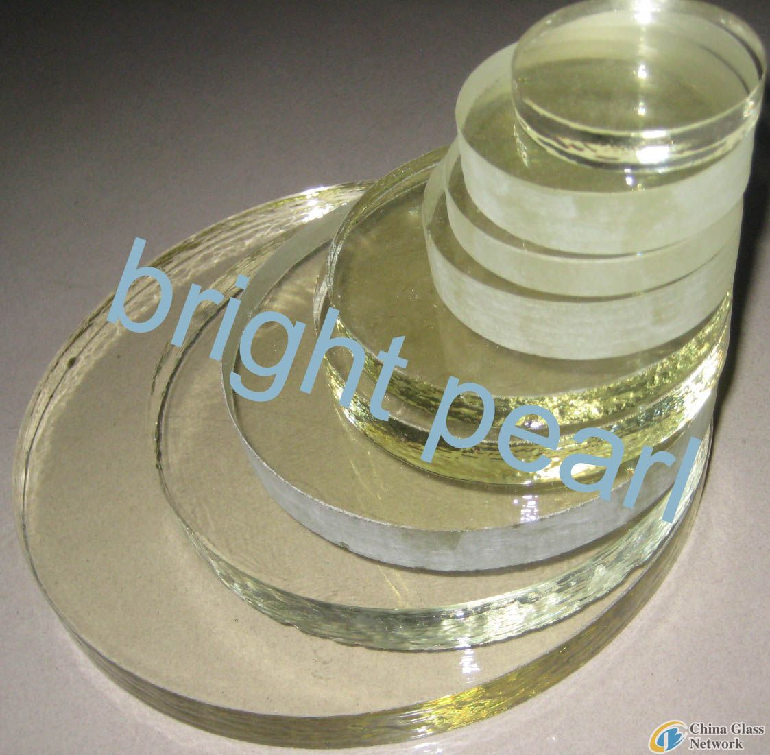 tempered borosilicate round glass (round sight glass)