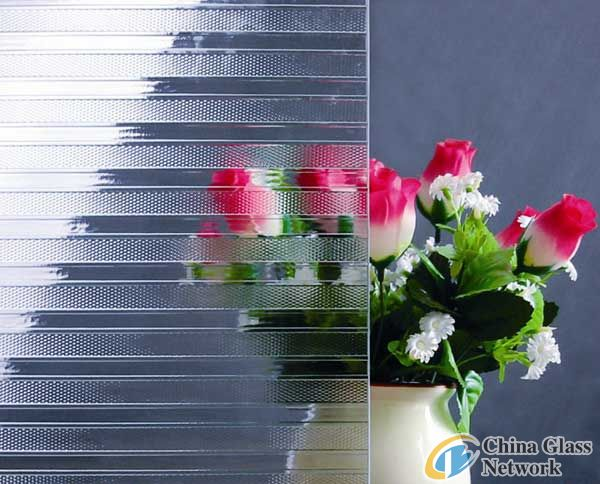supply Patterned glass