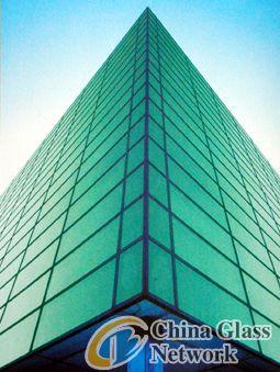 F-Green reflective glass,float glass