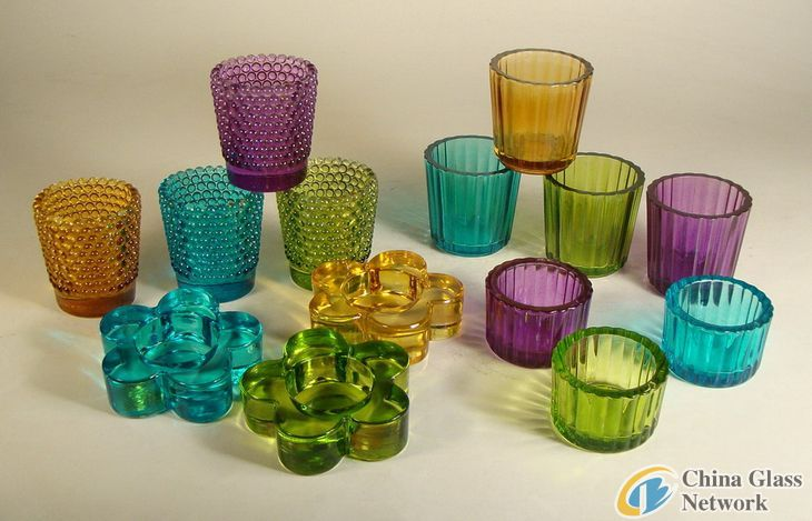 sell glass candle hodler