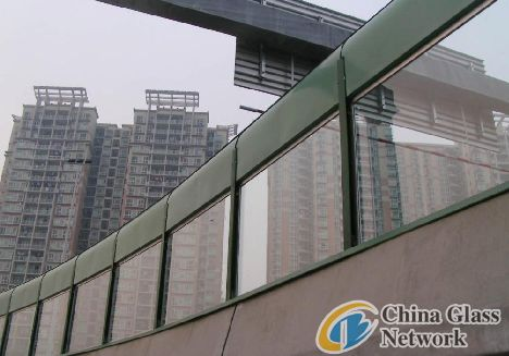 laminated glass used in Shanghai Expro