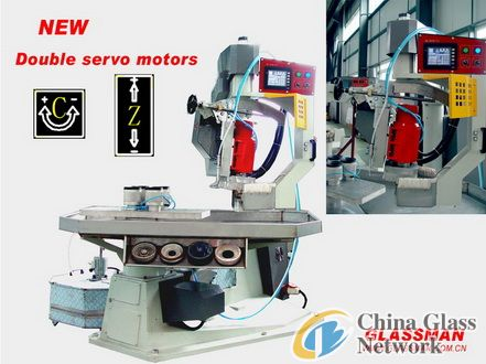 Fully Automatic Shaped Glass Beveling Machine
