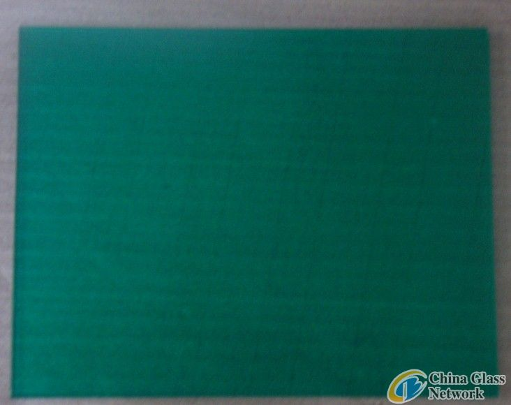 colorful wafer laminated glass