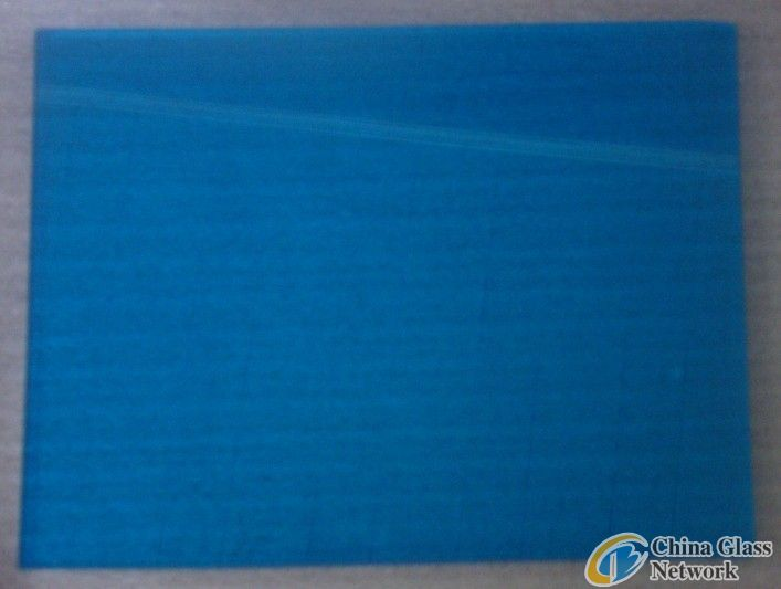 winter sky blue laminated glass