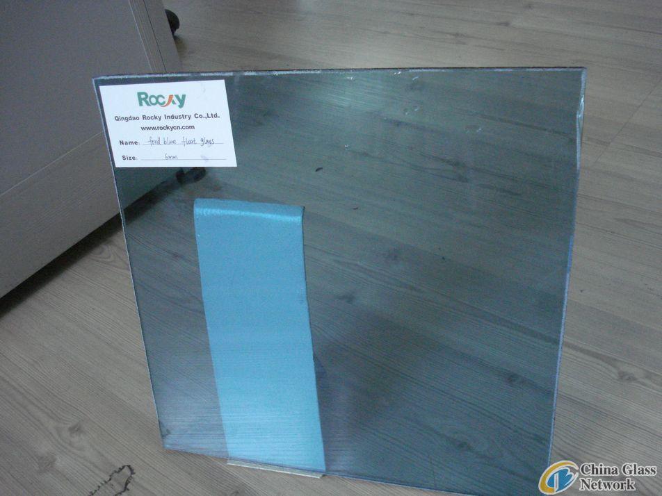 bule float glass