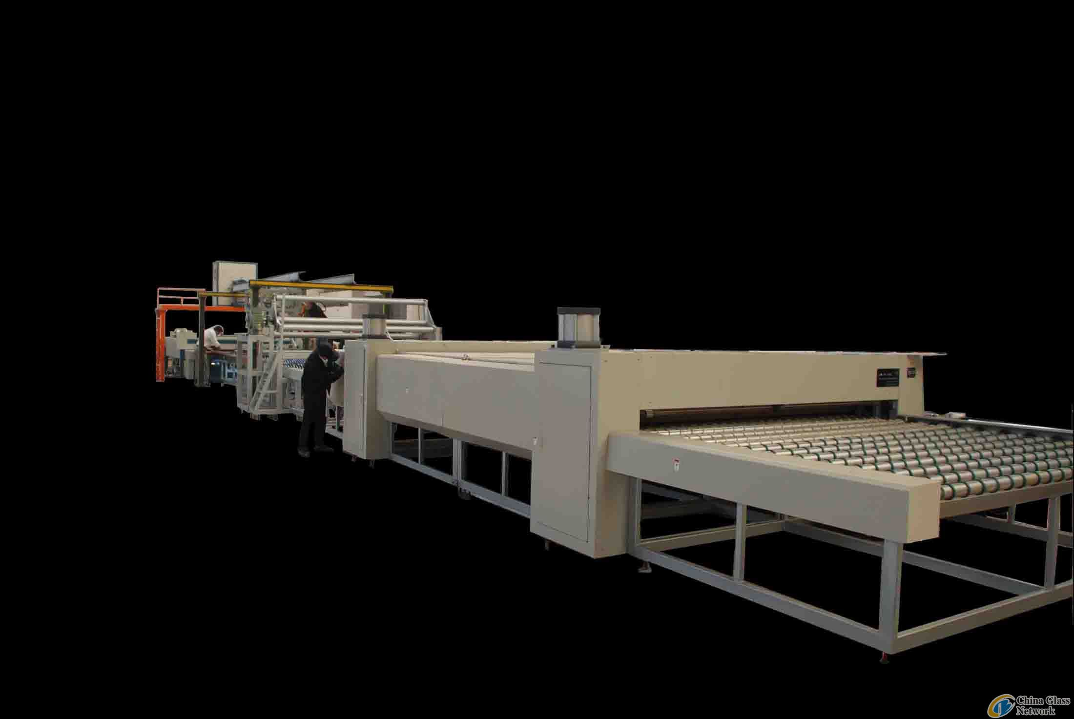 glass laminating line