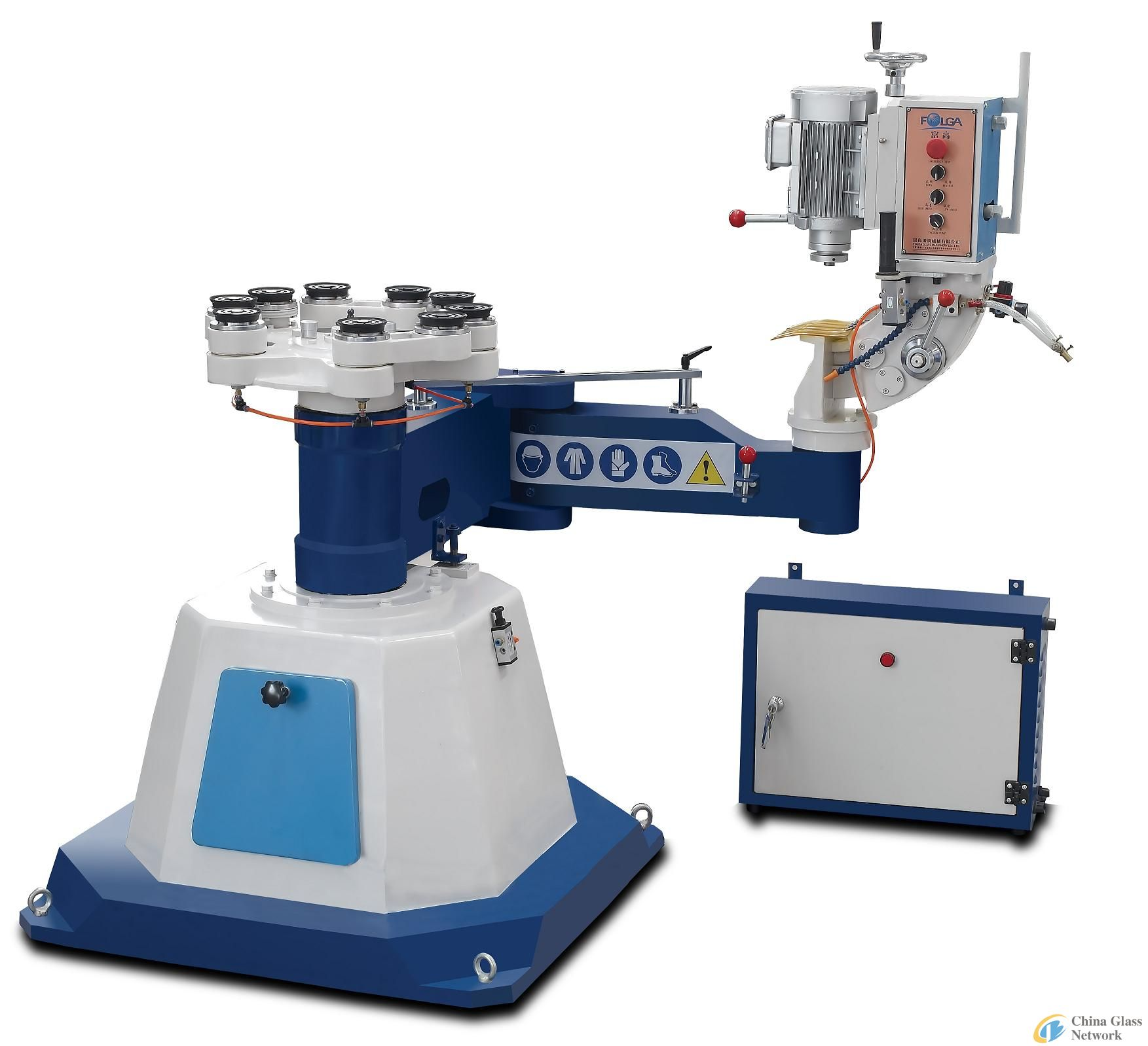 FA1-6 Irregular Glass Edging Grinding Machine