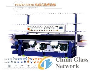 F353E/383E glass straight-line edging machine