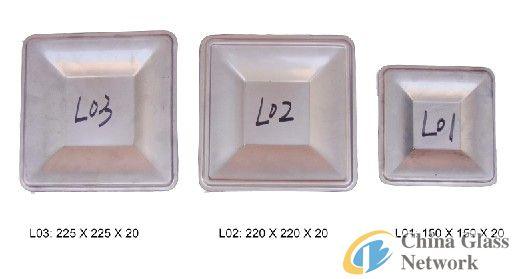 L01 L02 L03 Glass Fruit Plate Mould