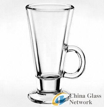 high clear drinking glass