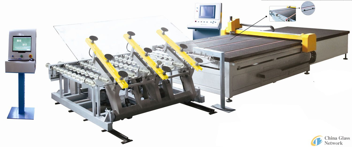 JL-CNC-3725 Automatic Glass Cutting Machine Line