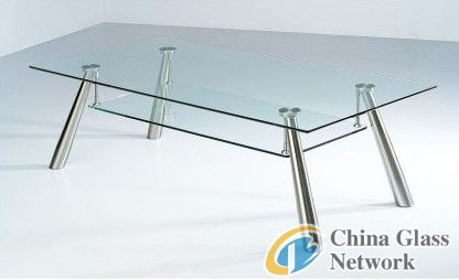 Tempered glass table-clear