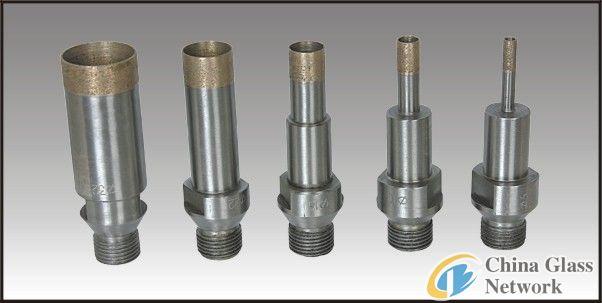 threaded shank drill bit L95/ diamond glass drill bits/drill bits for glass drilling