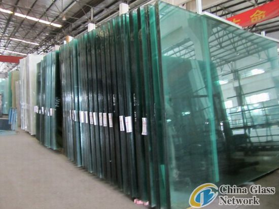 Giant tempered glass/laminated glass