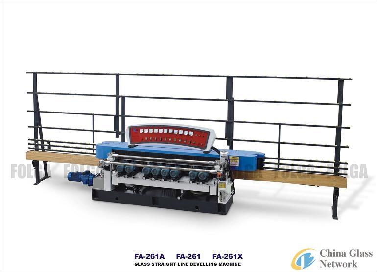 FA-261 Glass Straight Line Beveling Machine