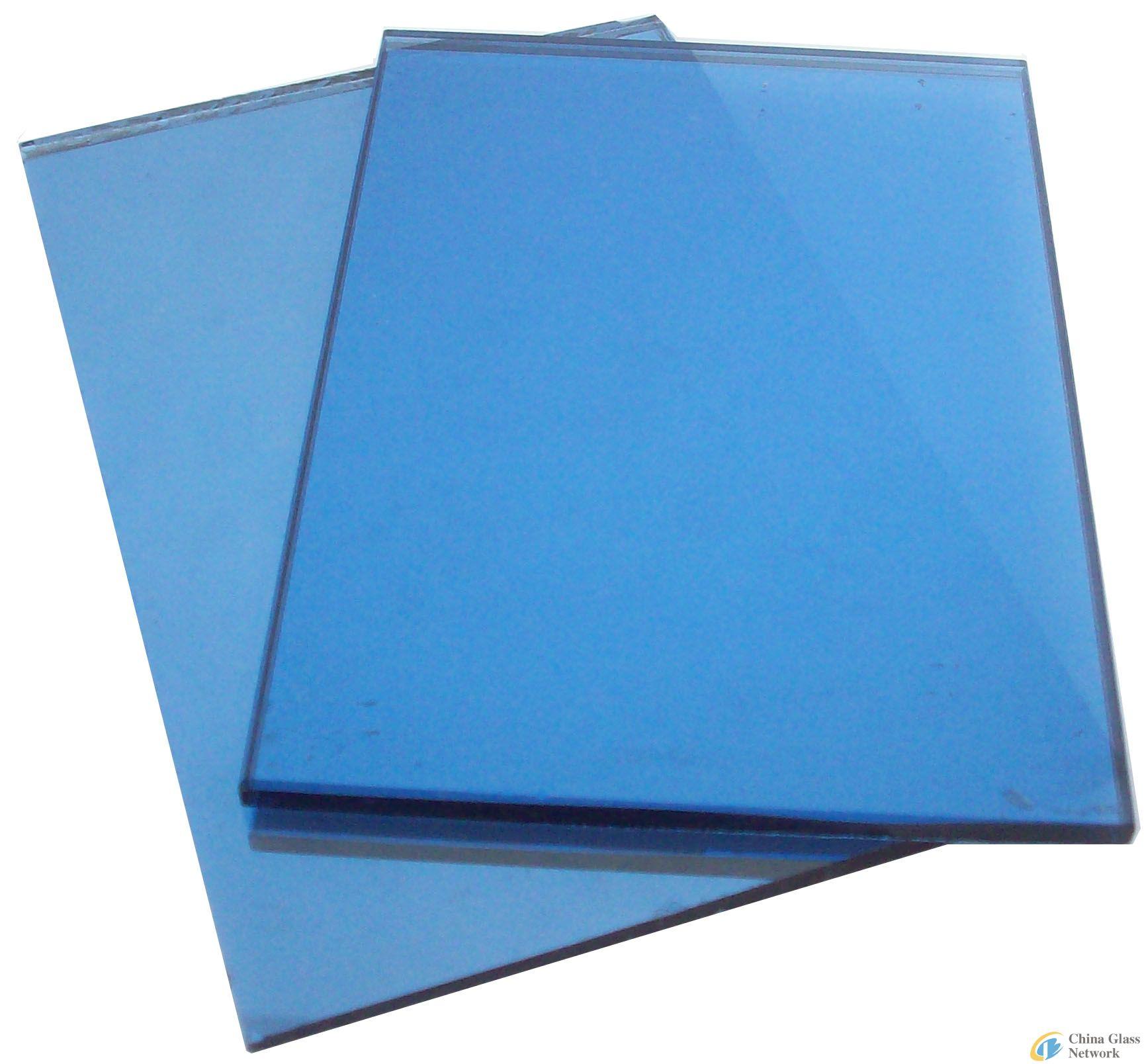 744b1ba31a05 Sell dark blue reflective glass-Reflective Glass-Processed Glass ...