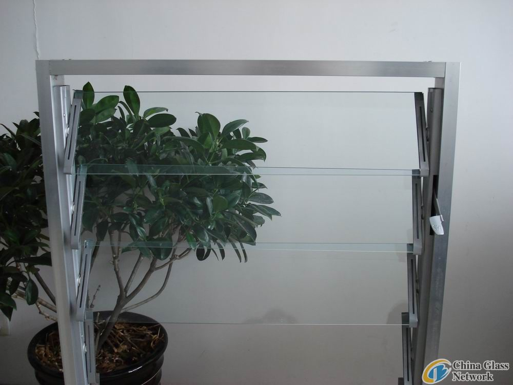 4mm-6mm clear louver glass