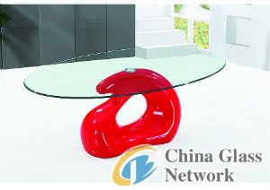 new design clear tempered glas
