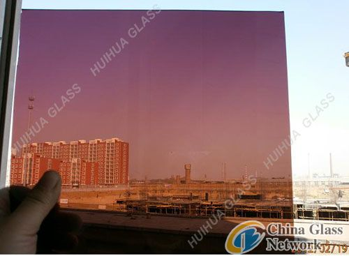 wine red float glass