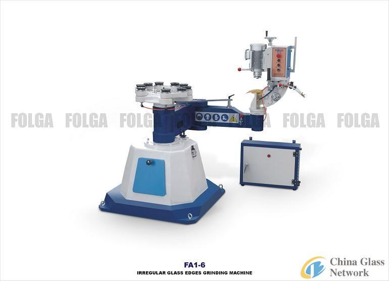 FA1-6 Irregular Glass Edges Grinding Machine
