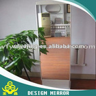 Thickness is1.5-6mm dressing mirror
