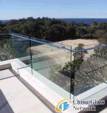 12mm Tempered glass guardrail