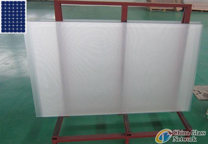 AR solar glass