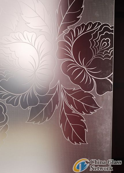 decorative glass for sliding door
