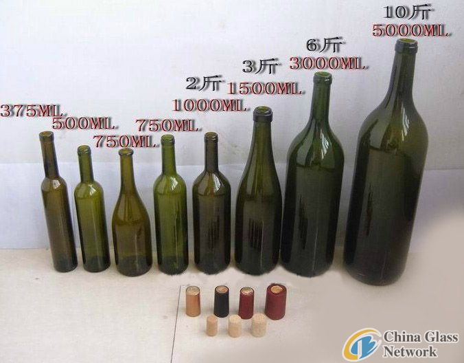 Wine bottles, wine bottle, ice wine bottles, health bottles