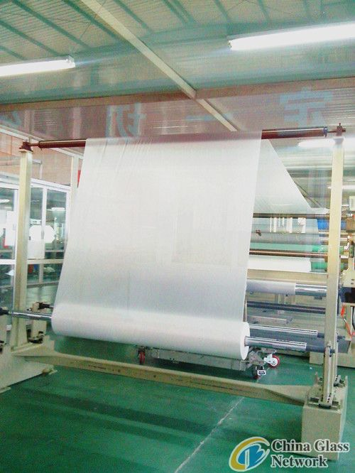 clear pvb film for safety laminated glass