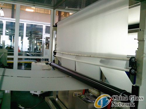 clear pvb film for building glass, laminated glass