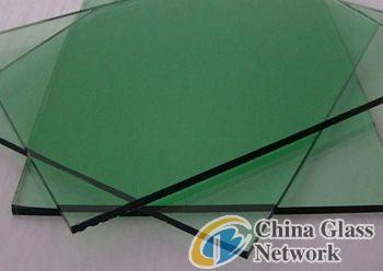 Green reflective glass 4mm