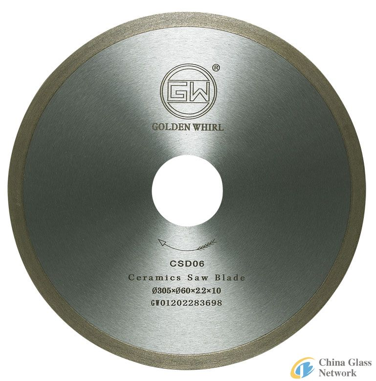 Continuous tooth Ceramic saw blade 300